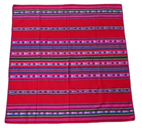 Peruaanse kleed rode