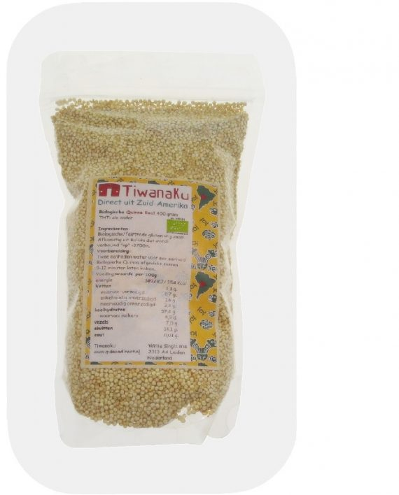 Bio Fair Trade Witte Quinoa Royal