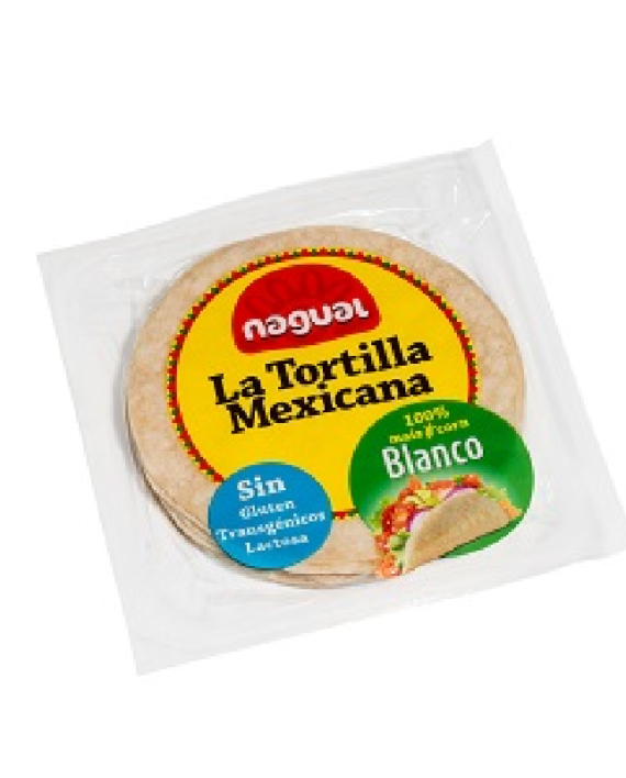 Unico Trade-maïs tortilla white